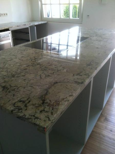 granit arctic cream. Black Bedroom Furniture Sets. Home Design Ideas